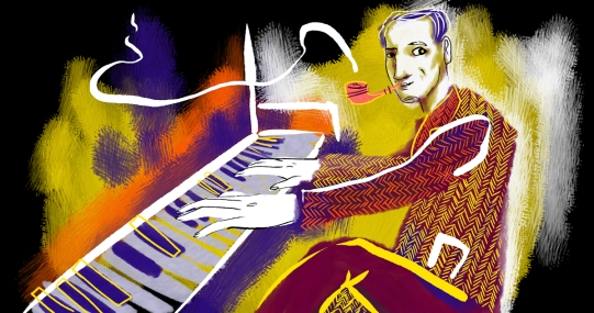 Portrait of George Gershwin